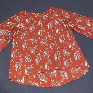 Papermoon 3/4 bell sleeve top